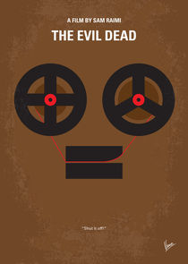 No380 My The Evil Dead minimal movie poster by chungkong