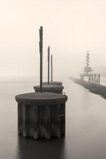 Elbe im Nebel von Michael Onasch