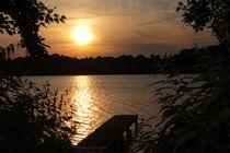 Abend am See von Thorben Junge