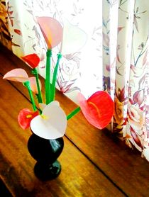 calla lily flowers von nellyart
