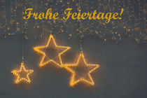 Frohe Feiertage!  by Beate Zoellner