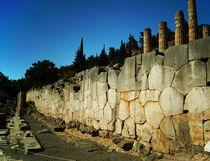 Antike polygonale Grundmauer von Sabine Radtke