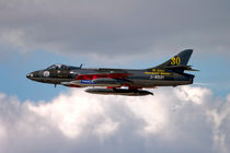 Hawker Hunter F.58 J-4021 by Andrew Harker