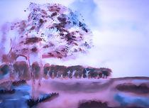 Marsh landscape by Maria-Anna  Ziehr