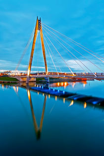 Marine Way Bridge by Roger Green