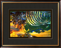 "Framed Version ""INVITATION"" - by ArteOmni by ARTEOMNI -"
