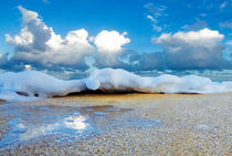 Beach Foam von Sean Davey