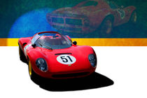 1966 Ferrari Dino 206SP von Stuart Row