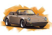 Porsche 911 Cabrio von rdesign
