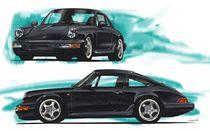 Porsche 911 (964) Carrera von rdesign