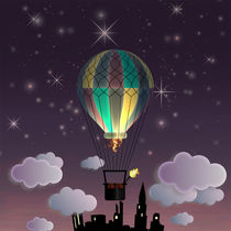 Balloon Aeronautics Night by dip