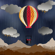 Balloon Aeronautics Rain by dip