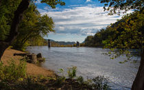 The Shenandoah River von John Bailey