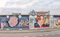 East Side Gallery Berlin mit Bruderkuss by Steffen Klemz