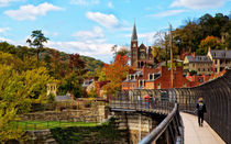 Harpers Ferry In Autumn by John Bailey