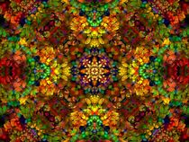 Fruit Salad Mandala  by Richard H. Jones