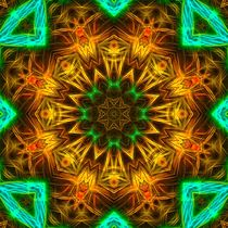 Noda Noodles Mandala II by Richard H. Jones