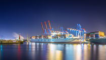 Container Terminal Tollerort II by photoart-hartmann