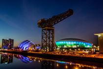 Glasgow at night by Sam Smith