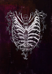 Ribcage Heart by Sybille Sterk