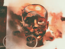 The head and the bicycle von Gabi Hampe