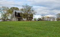A Tired Old Barn by John Bailey