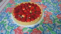 strawberry pie by Juliana Paiva  Santos
