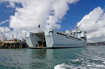 RFA Mounts Bay (L3008), Falmouth Docks von Rod Johnson