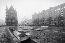 Speicherstadt im Nebel II von Simone Jahnke