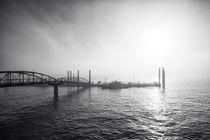 Hafen im Nebel von Simone Jahnke