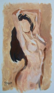 Posing Nude by terrydonnelly