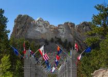 Mount Rushmore National Memorial by John Bailey