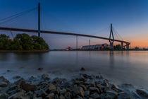 Köhlbrandbrücke Hamburg by Martin Büchler