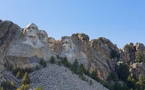 A Different View Of Mount Rushmore von John Bailey