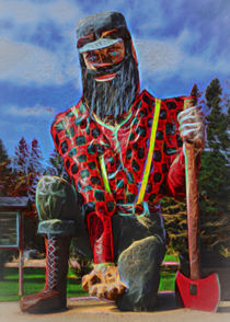 Souped Up Paul Bunyan von John Bailey