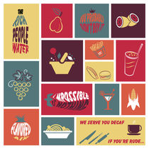 Vintage Food Collage von dip