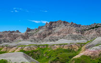 Green In The Badlands by John Bailey