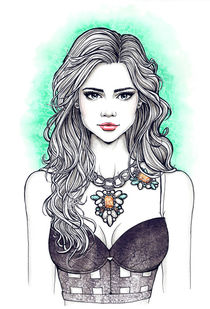 Necklace 04 by Tania Santos