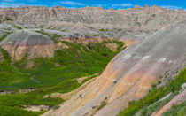 Badlands Canyons And Valleys by John Bailey