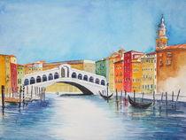 Rialtobrücke Venedig von Inez Eckenbach-Henning