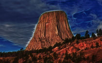 Devils Tower Is Off Limits von John Bailey