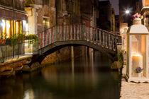 Bridge in Venice by Daniele Ferrari