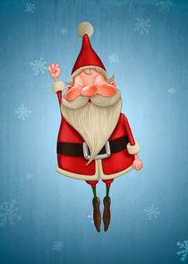 Santa Claus flies by Giordano Aita