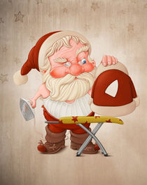 'Santa Claus with flatiron' by Giordano Aita