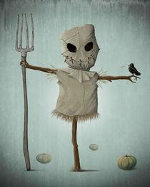 Halloween scarecrow von Giordano Aita