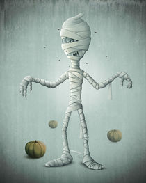Mummy halloween by Giordano Aita