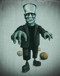 Halloween monster von Giordano Aita