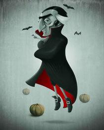 Vampire halloween von Giordano Aita