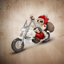Motorized Santa Claus von Giordano Aita