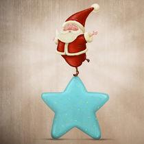 Equilibrist Santa Claus by Giordano Aita